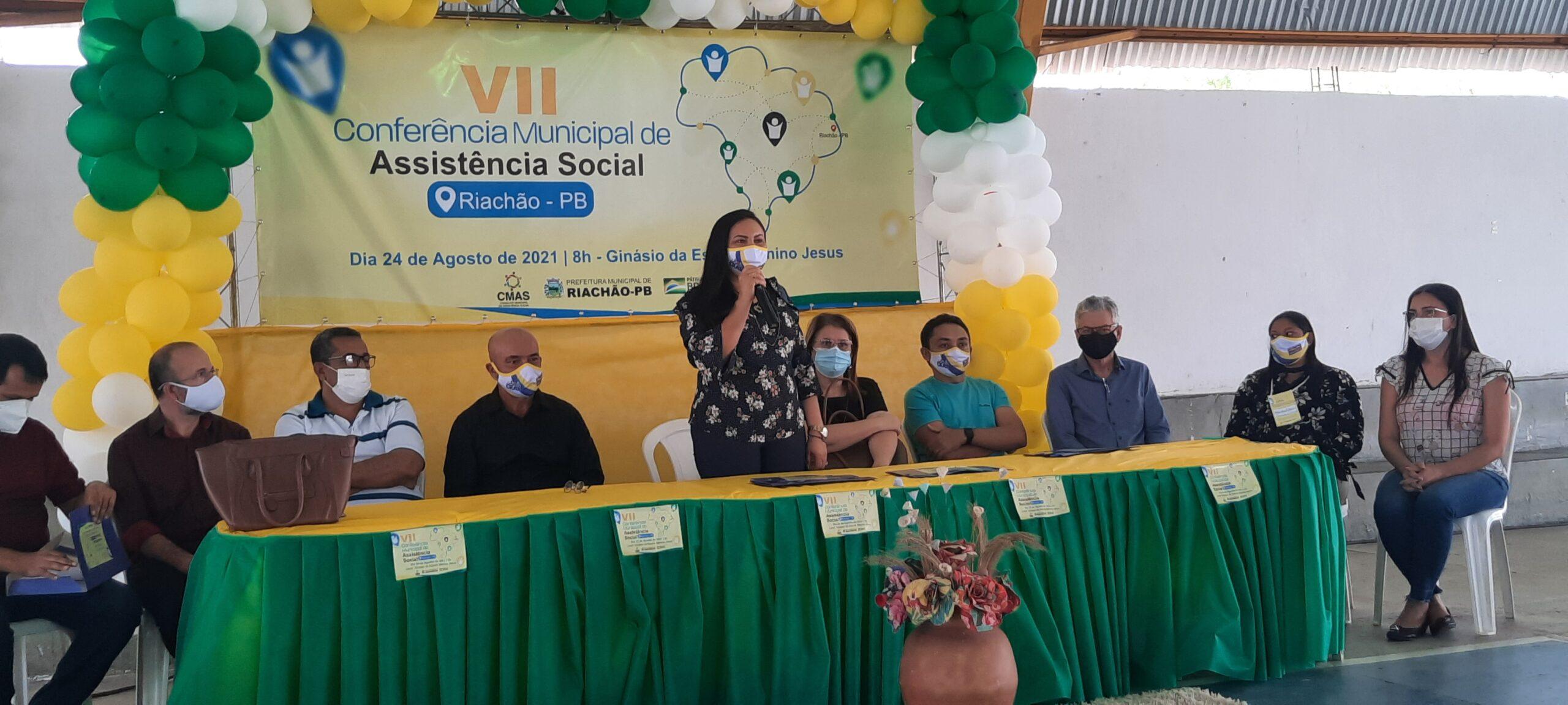 VII CONFERÊNCIA DA AÇÃO SOCIAL MUNICIPAL